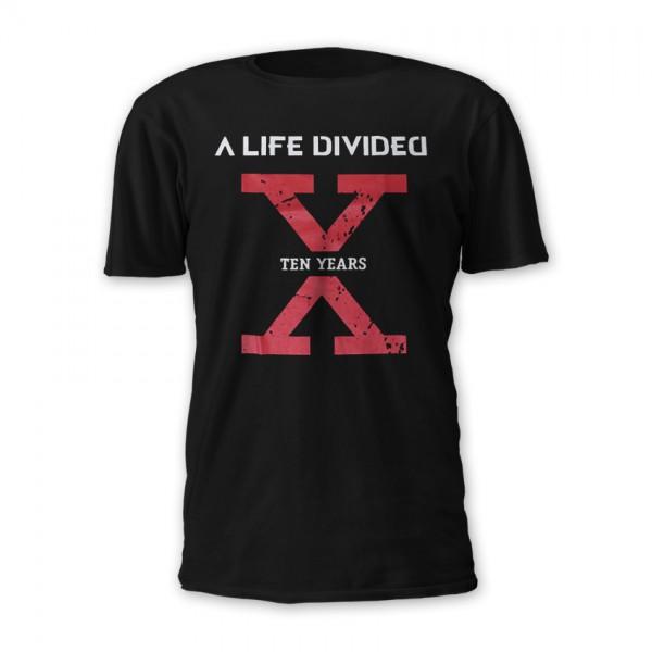 T-Shirt 10 Years X